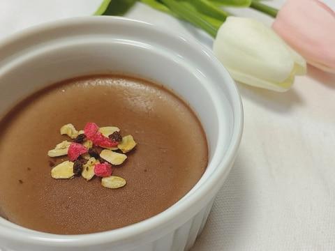 10分でできる!絶品チョコムース