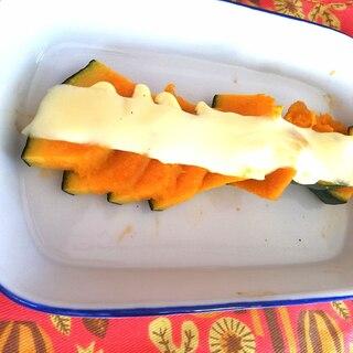 かぼちゃのマヨチーズ焼き