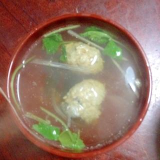 イワシのつみれ汁☆きくらげ入り【中性脂肪*予防】