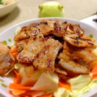 焼肉用の豚肉で★豚の塩麹漬け