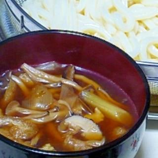 """キノコいっぱいのつけ汁☆""""きのこ汁うどん"""""""