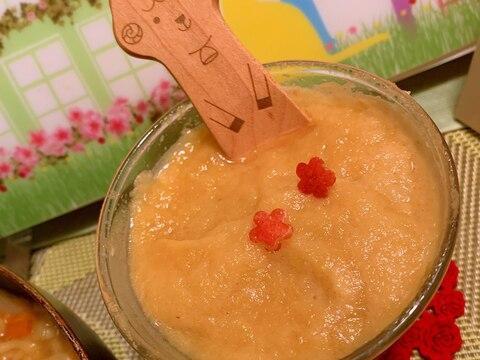 林檎と生姜の蜂蜜レモンらくだミルクスムージー