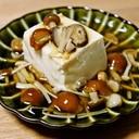 めんつゆで簡単!豆腐のきのこあんかけ