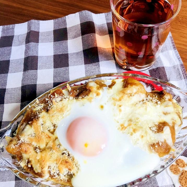 パン粉がポイント!トロトロ卵の絶品焼きカレー☆