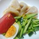 暑い夏に…水餃子サラダ