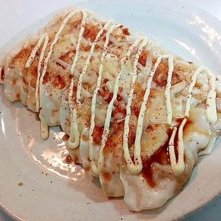 とろけるチーズon焼き餃子