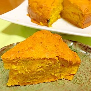 簡単! かぼちゃケーキ
