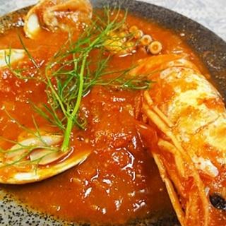 海鮮トマトスープ