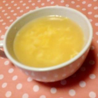 3分でできる【たまごスープ】