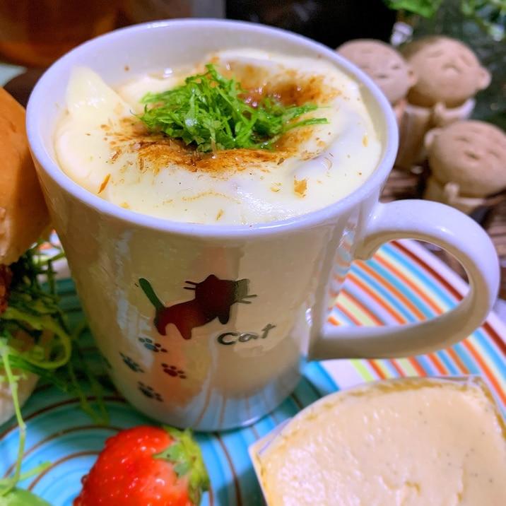 新玉葱の和ふーっ!オニオングラタンスープ