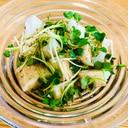 夏バテ防止に!☆豆腐と山芋のさっぱりサラダ