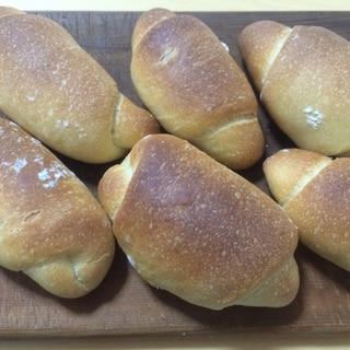 流行りの塩パンを焼こう! 少量からのふんわり塩パン