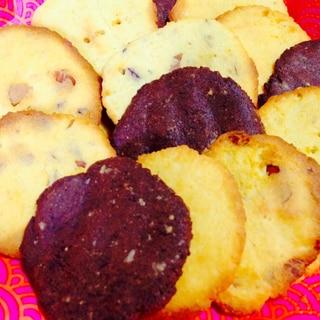 【糖質制限のおやつ】ポリポリ☆4種のおからクッキー