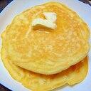 豆乳と米粉のホットケーキミックス粉のホットケーキ