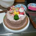 クリスマス切り株ケーキ