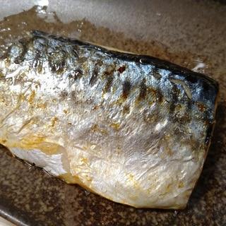 冷凍サバの焼き方(フライパン)