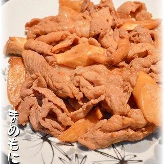 コリコリ美味しい♪豚肉とエリンギの☆中華風炒め