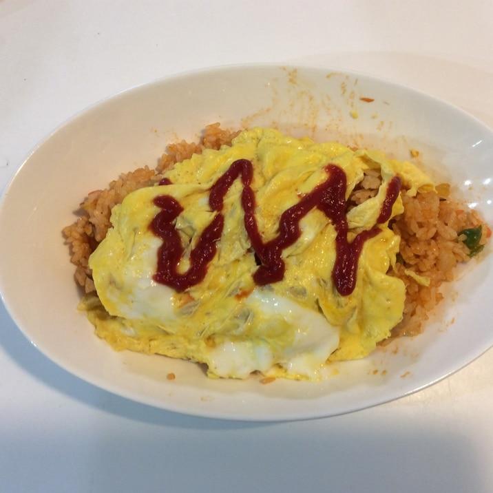 コンソメ オムライス コンソメライスでオムライス レシピ・作り方