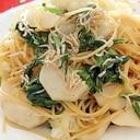 かぶとシラスのスパゲッティ