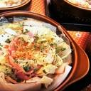 レンチン【白菜とベーコンのミルフィーユスープ仕立】
