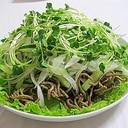 簡単!揚げ蕎麦のカリカリサラダ