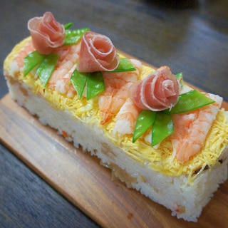 ちらし寿司ケーキ