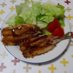 簡単調理 鰯のマヨネーズフライ