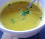 かぼちゃの味噌スープ