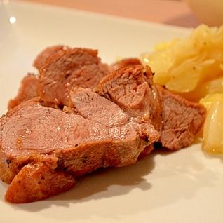 【簡単!】やわらかおいしい!豚ロースの蒸し煮