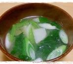 長芋の味噌汁