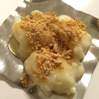 ヘルシーおやつ☆豆乳と片栗粉で作るミルクもち