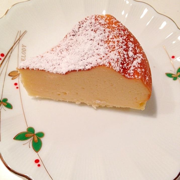 とっても簡単!炊飯器でチーズケーキ