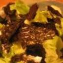 韓国風 サニーレタスサラダ