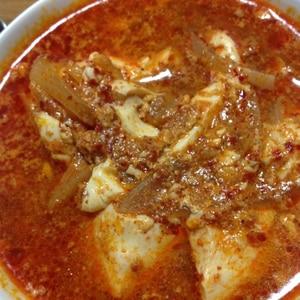 【韓国料理】スンドゥブチゲ(豆腐チゲ)