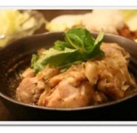 鶏肉とごぼうの煮物