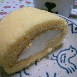 ふんわりやわらかロールケーキ
