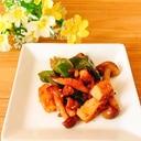 鶏肉と野菜☆焼き肉のたれ炒め✧˖°໒꒱