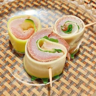 ズッキーニと入梅イワシの前菜