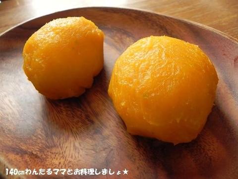材料3つで簡単★かぼちゃおはぎ