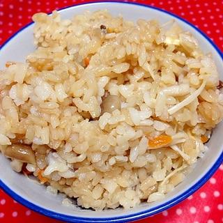圧力鍋de☆きのこの炊き込みご飯
