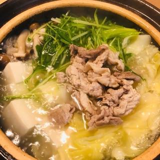 豚キャベツの中華鍋