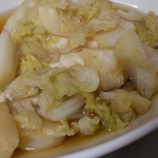 白菜だけのくたくた煮