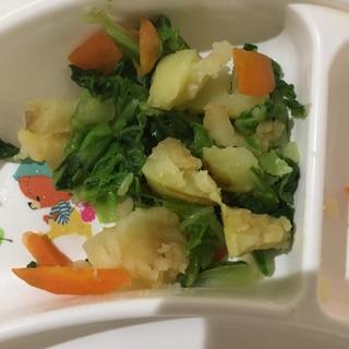 フライパンで蒸し焼き野菜!