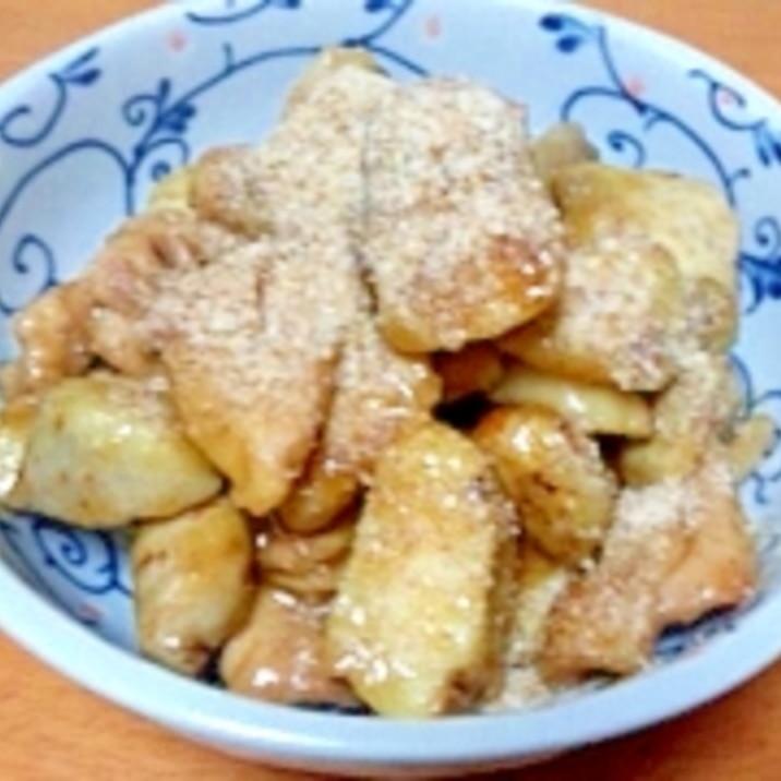 鶏肉とサトイモの甘辛煮