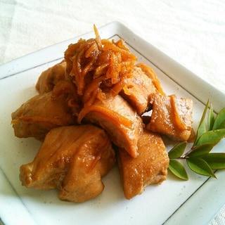 簡単常備菜!まぐろの生姜煮♡
