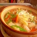 ● ひとり土鍋で鍋焼き風インスタントラーメン ●