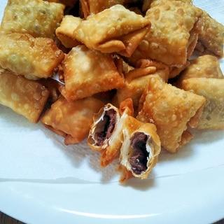 【裏ワザ!】餃子の皮deなんちゃってチョコパイ