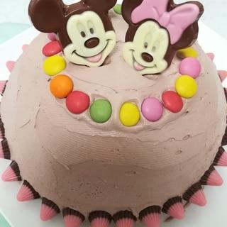 作業30分☆簡単!!クッキー&クリームアイスケーキ