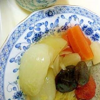 煮るだけ☆生ソーセージのポトフ