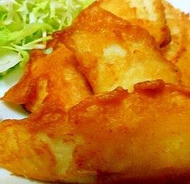 白身魚の唐揚げ